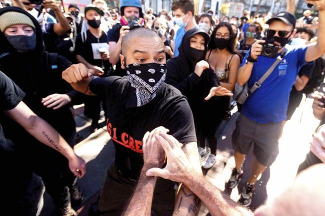 Pour Antifa, la liberté d