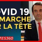"""Florian Philippot: """"Avec le Covid, c'est déjà un CARNAGE mais alors en cas de reconfinement, c'est la mort de la France !"""""""