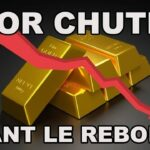 L'Or et l'Argent corrigent avant un REBOND ? TANT MIEUX !!