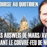 """Philippe Béchade – Séance du Jeudi 15 Octobre 2020: """"Après les ausweis de mars/avril, maintenant le couvre-feu de novembre"""""""