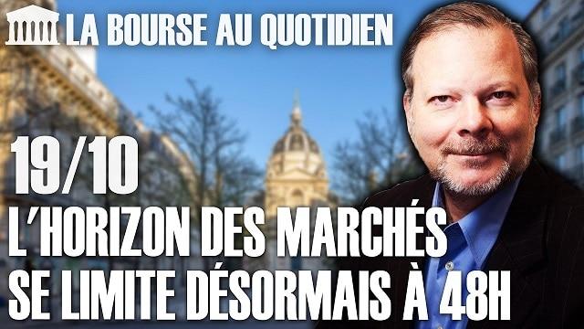 """Philippe Béchade – Séance du Lundi 19 Octobre 2020: """"L"""