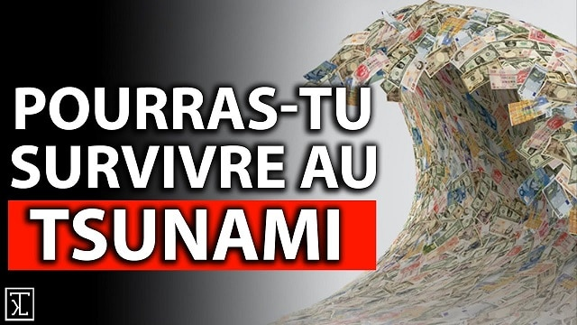 Pourras tu survivre au prochain TSUNAMI FINANCIER ?... Attention à l