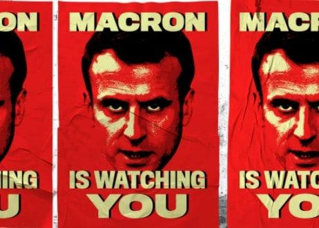 Macron-is-watching-you