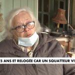 Martine, 75 ans et relogée car un squatteur vit chez elle ! Enfin une promesse d