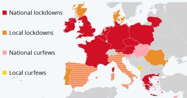 europe-lockdown