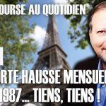 Philippe Béchade – Séance du Vendredi 20/11/20: «Plus forte hausse mensuelle depuis 1987… tiens, tiens !»