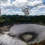 Effondrement du télescope géant d'Arecibo. L'occident aussi s'effondre.