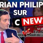 Florian Philippot: «débat hallucinant face à une Macroniste sur CNews ! (3è vague, traitements,…)»