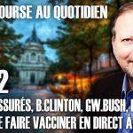"""Philippe Béchade – Séance du 03/12/20: """"On est rassurés, B.Clinton, GW.Bush, B.Omama veulent se faire vacciner"""""""