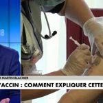 Martin Blachier sur la vaccination: «Je ne sais pas si enfin on va mettre une pression sur les gens… mais je pense qu'au bout d'un moment, on va devoir y aller !»