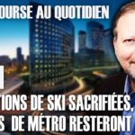 """Philippe Béchade – Séance du Jeudi 20 Janvier 2021: """"Les stations de ski sacrifiées, les stations de métro resteront bondées"""""""